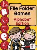 File Folder Games: Alphabet Edition