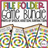 File Folder Games BUNDLE