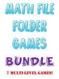 File Folder Games BUNDLE 6TH Grade VA SOL