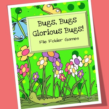 Bug and Insect File Folder Games