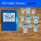 File Folder Games Bundle For Beginning Skills
