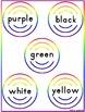File Folder Games Color Words Paintball Kindergarten Presc