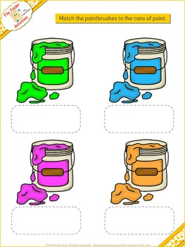 File Folder Games - Colors 1