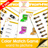 File Folder Games - Colors 2