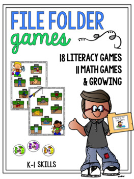 File Folder Games: ELA Edition