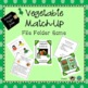 ASL Games File Folder Food Bundle