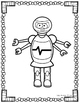 Robot File Folder Games