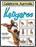 File Folder Games Set KANGAROO Matching Skills to CELEBRATE AUSTRALIA