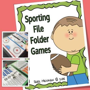 Sport File Folder Games