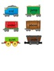 File Folder Games Synonyms and Trains