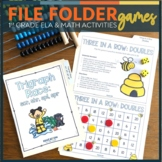 File Folder Games for 1st Grade