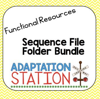 File Folder Games for  Sequencing Bundle