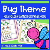 File Folder Games for Pre-K or Kindergarten