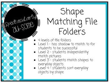 File Folder Games - Shapes