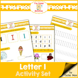 Letter I - File Folders