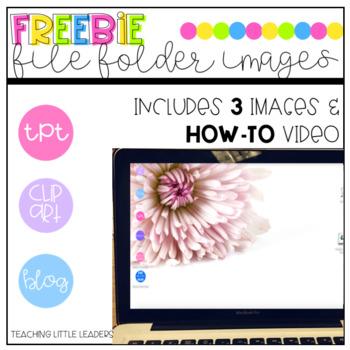 File Folder Images / Clipart Freebie