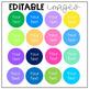 File Folder Images/Clipart {Includes Editable Option}