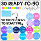 File Folder Images/Clipart {Includes Editable Option}