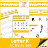 Letter K - File Folders