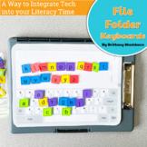 File Folder Keyboard Activities