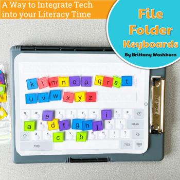 UNPLUGGED File Folder Keyboard Activities for Typing Skills