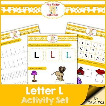 Letter L - File Folders
