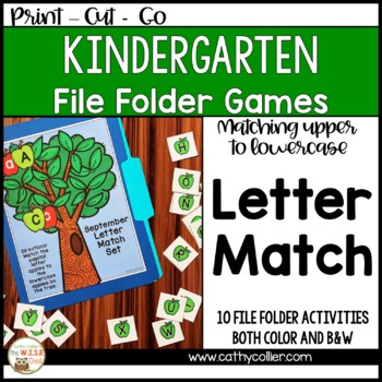 File Folder Letter Match Set