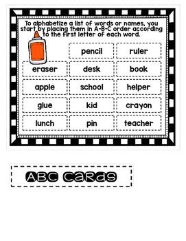 File Folder Literacy Centers- September
