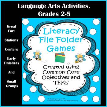 Literacy Centers: File Folder Activities