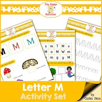 Letter M - File Folders
