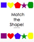 File Folder: Match the Shape