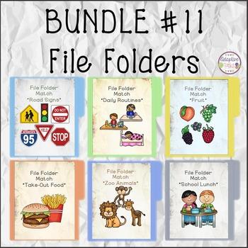 BUNDLE #11 FILE FOLDERS