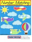 File Folder Matching Numbers and Number Words {Pre-K/Kindergarten/Autism}