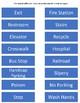 File Folder Matching Safety Signs