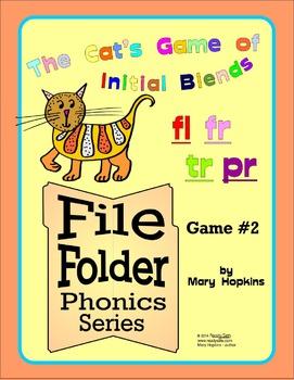 File Folder Phonics #2 - FL, FR, TR, PR Initial Blends
