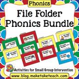 Phonics - File Folder Phonics Bundle