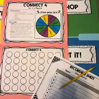 File Folder Phonics Games-CONTRACTIONS