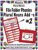 Plurals adding -s #2 - File Folder Phonics
