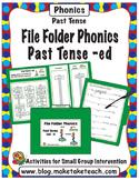 Past Tense -ed - File Folder Phonics
