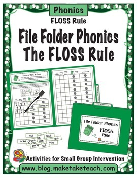 The FLOSS Rule- File Folder Phonics