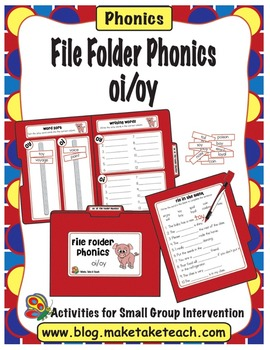 oi oy - File Folder Phonics