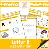 Letter R - File Folders