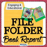 Book Report, File Folder Reading Project, Book Project