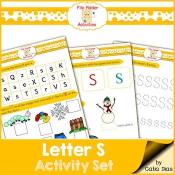 Letter S - File Folders