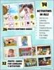 Autism Activities: File Folder Picture Sentence Building- Carnival!
