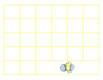 File Folder Sequence ABCs Lowercase (Yellow)