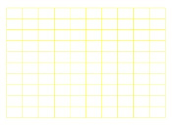 File Folder Sequencing Numbers 1-100 (Yellow)