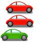 File Folder Shape Matching Cars
