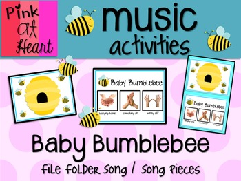 Baby Bumblebee - File Folder Song and Song Pieces