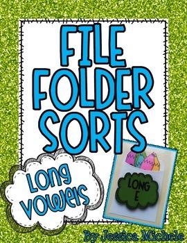 File Folder Sorts {Long Vowels}
